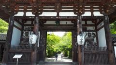 石山寺にて