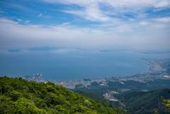 琵琶湖景 ーキタダカ道ー