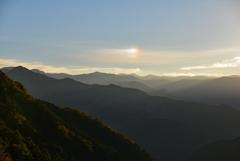 谷で出逢った朝景