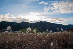 初冬の嵐山