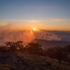 日出ヶ岳の夜明け