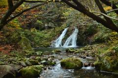 岡山県 鏡野の滝