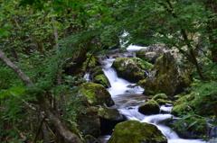 岡山県鏡野 白賀渓谷