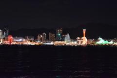 冬の神戸港