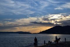 関西の絶景 須磨海岸