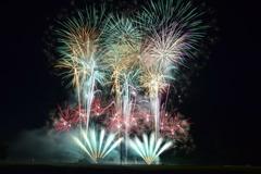 018朝来市山東夏祭り花火大会