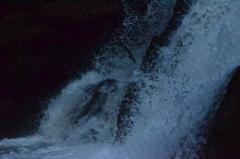 岡山県鏡野 泉源渓谷 唐音の滝
