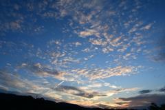 北摂 初秋の空