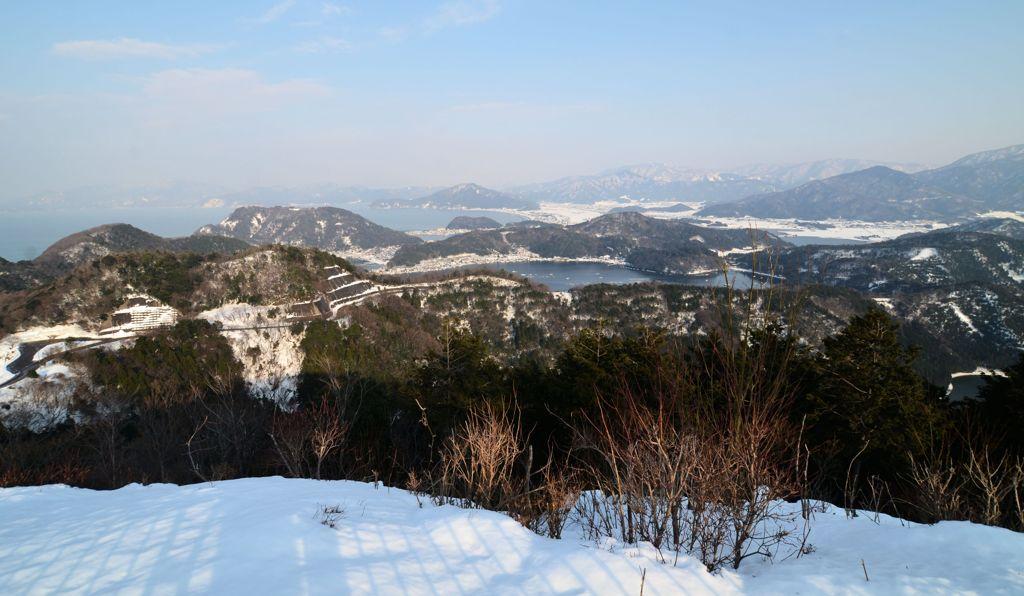 冬の若狭三方五湖