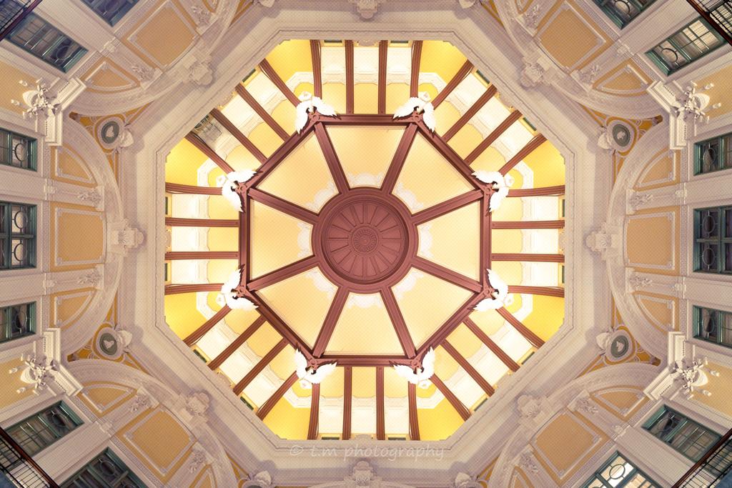 東京駅ドーム天井