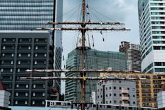 都会の帆柱