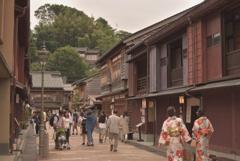 Higashi Chaya District in Kanazawa