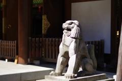 狛犬_乃木神社