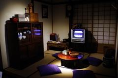 1960年代の茶の間_NHK放送博物館