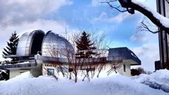 冬の天文台