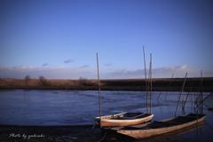 冬の渡良瀬