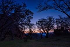 静かに迎える朝~屏風岩 弐