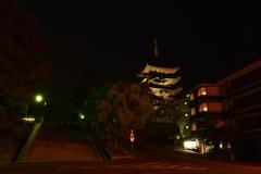闇夜の興福寺⑤