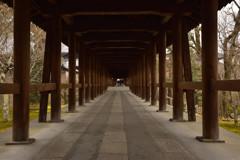 閑散期の東福寺 通天橋