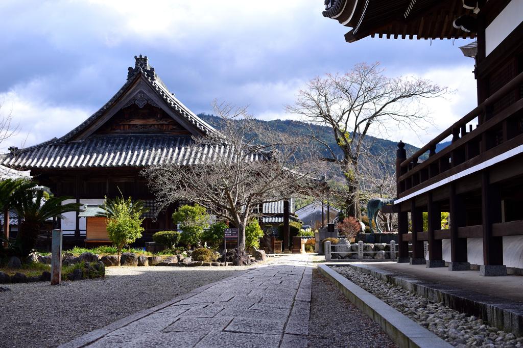 奈良 橘寺にて