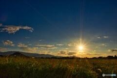 大和の里に陽が落ちる・・・藤原京