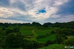 深緑~棚田広がる稲渕