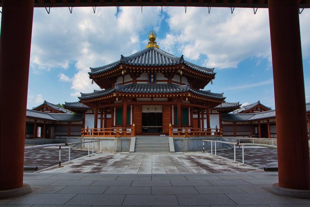 玄奘塔~薬師寺