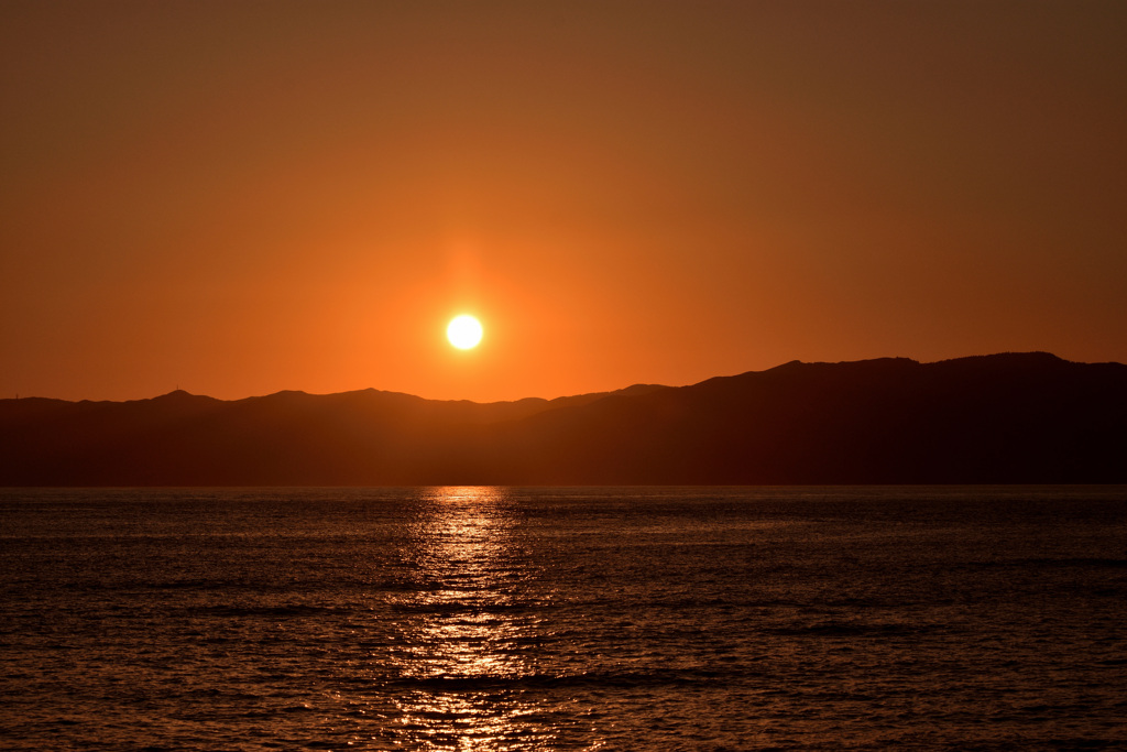 田倉崎の夕景 〈3〉