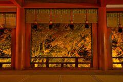 秋の夜の談山神社~拝殿