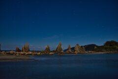 夜明け前の橋杭岩 〈弐〉