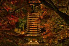 秋の夜の談山神社《弐》