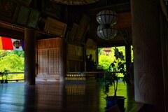 新緑の長谷寺~本堂