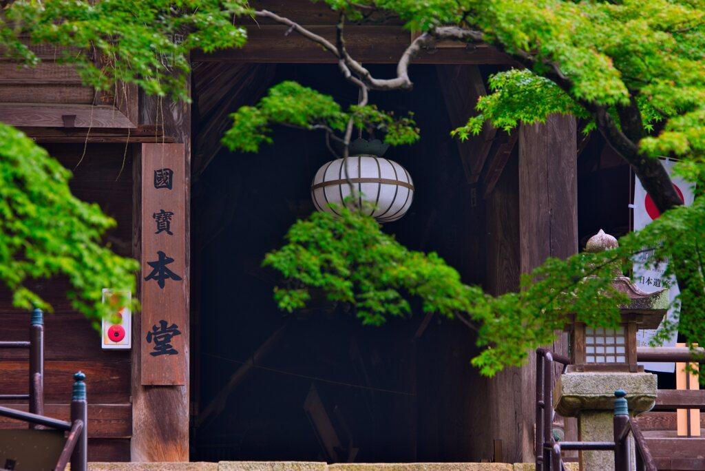 國寶の本堂~長谷寺