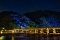 嵐山花灯路~渡月橋