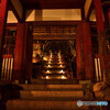 常寂光寺の夜