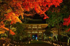 秋の夜の・・・・室生寺