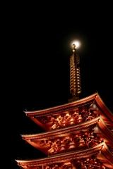 静寂の浅草寺