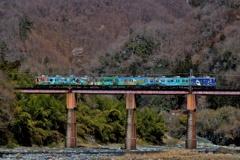 秩父鉄道のある風景