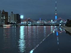 スカイツリーと清洲橋