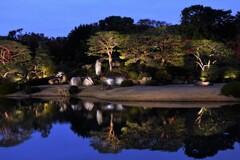 大名庭園ライトアップ