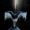 凍てつく鶴
