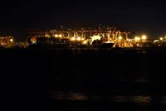 大井ふ頭の夜景
