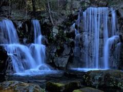 郷土の森の滝