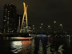 中央大橋と永代橋