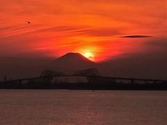 ゲートブリッジの落日