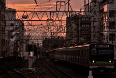 笹塚駅にて