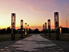 大黒海釣り公園の夕景