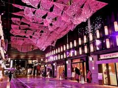 桜色に染まる日本橋