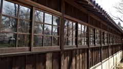本土寺の渡り廊下 2