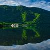 十和田湖 静かな朝